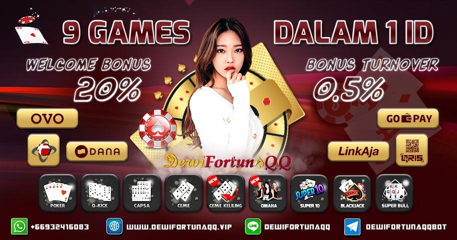 DewiFortunaQQ Situs Judi Domino QQ Poker Online IDN Poker Permainan Terbaik
